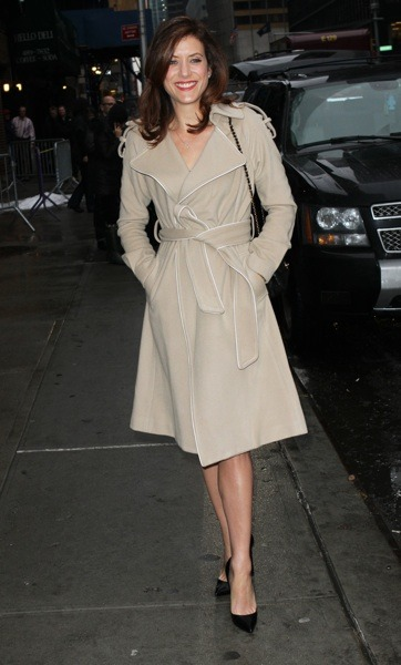 Kate Walsh in nude trench