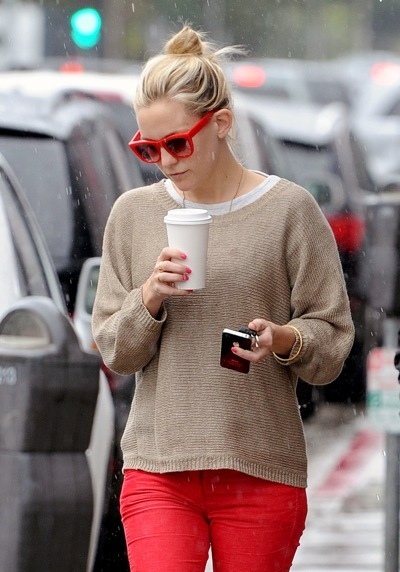 Kate Hudson in a sweater