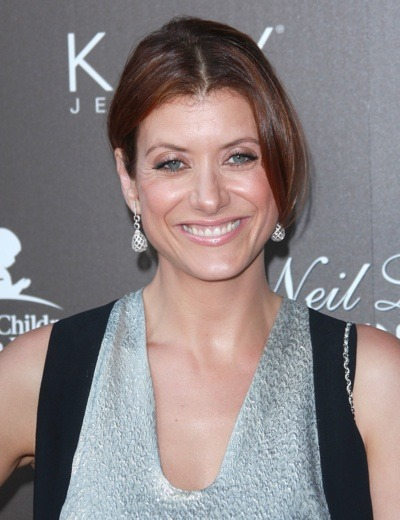Kate Walsh with diamond earrings