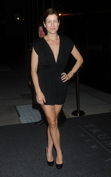 Kate Walsh in a romper
