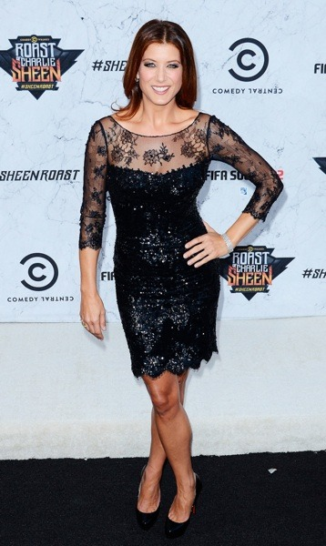 Kate Walsh with sheer lace