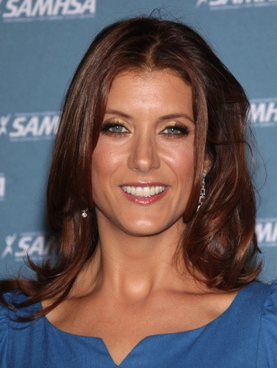 Kate Walsh looks sun-kissed