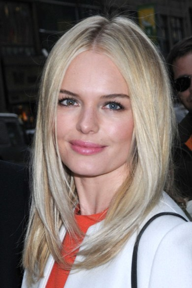 Kate Bosworth's chic, blonde hairstyle