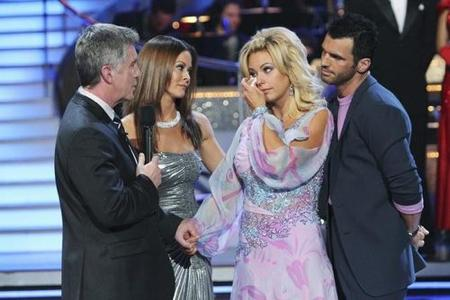 Kate Gosselin voted off DWTS