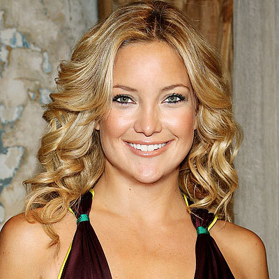 Kate Hudson's feathered curls