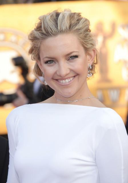 Kate Hudson's elegant braided hairstyle