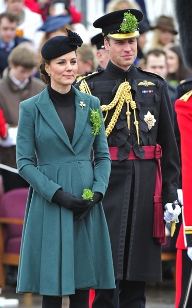Kate and Will attend military parade