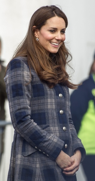 Kate visits Scotland