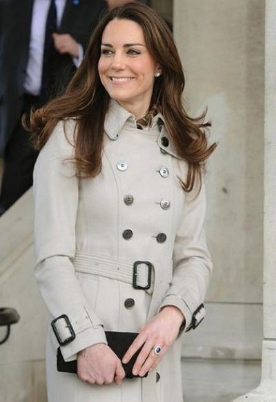 Kate Middleton - Burberry