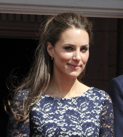 Kate Middleton's Flirty 'do