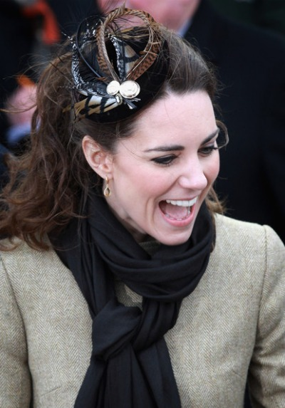 Kate Middleton - Feather Hat