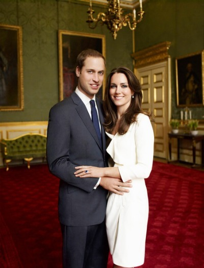 Kate Middleton and Prince William - Engagement Portrait