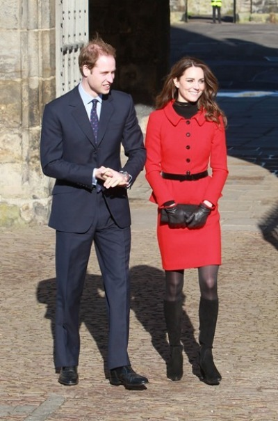 Kate Middleton and Prince William - St Andrews