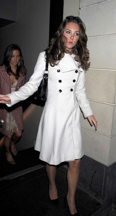 Kate Middleton - White Coat