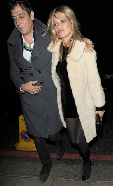 Kate Moss and her husband celebrate her birthday