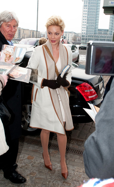 Katherine Heigl outside of SAT .1 TV Studios in Berlin