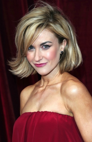 Short hairstyles: Katherine Kelly - Easy Hairstyles For Shoulder Length Hair