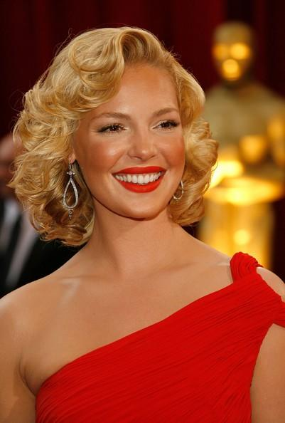catherine heigl hairstyles. Katherine Heigl Closeup
