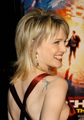 Kathryn Morris: Man with arrows tattoo