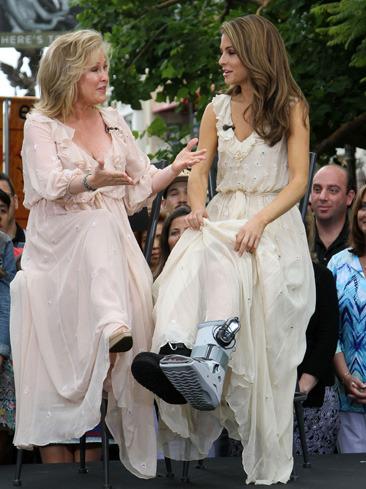 Kathy Hilton & Maria Menounos