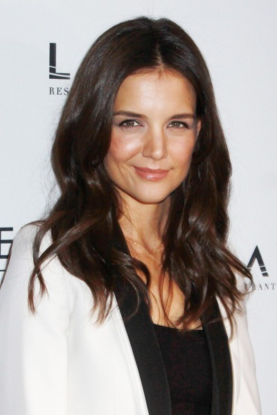 Katie Holmes' long, chic hairstyle