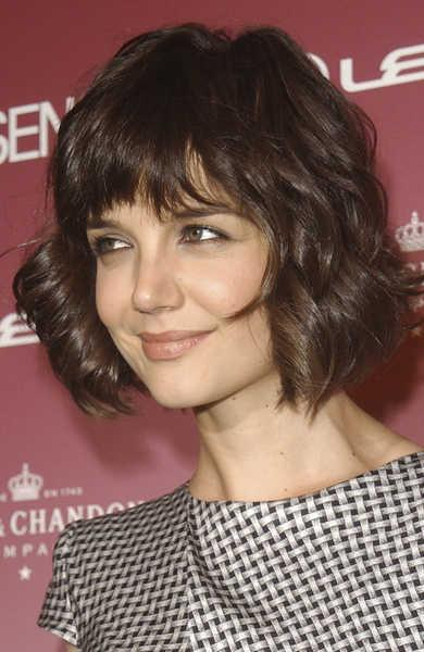 Katie Holmes Short Layered Hairstyle