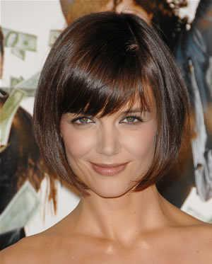 Short  Hairdos on Katie Holmes Short Bob Hairstyle Mad Money Premiere Jpg