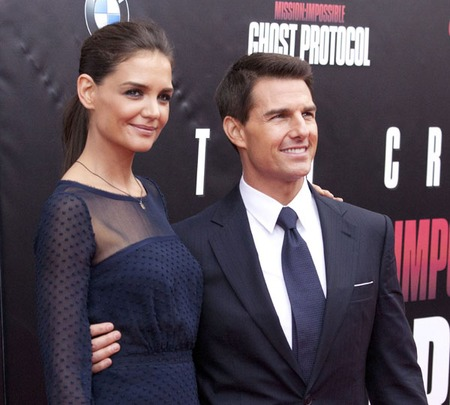 Katie Holmes & Tom Cruise (2011)