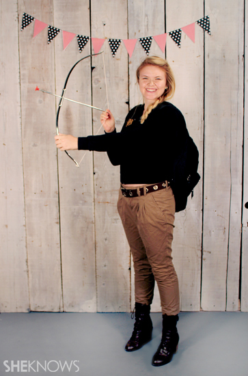 Halloween costume ideas: Katniss Everdeen from Hunger Games