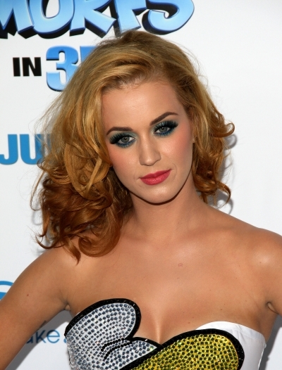 Katy Perry's Blonde Curls