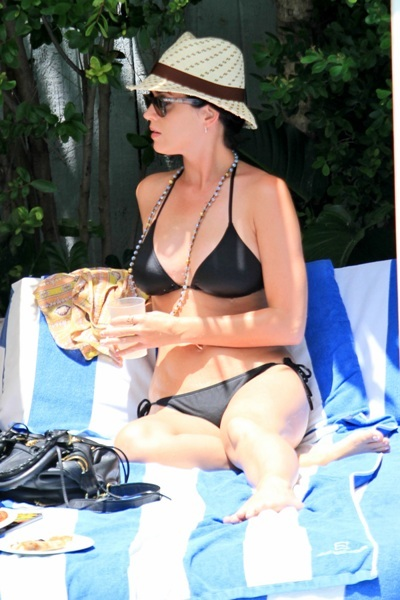 Katy Perry at the pool