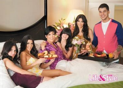 The Jenner-Kardashian family in the early seasons.