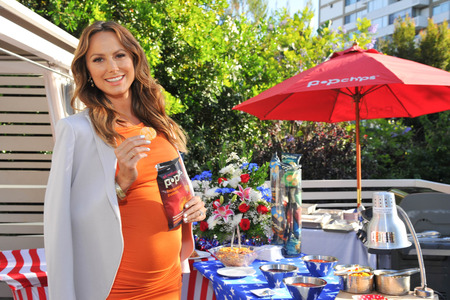 Stacy Keibler's baby bump