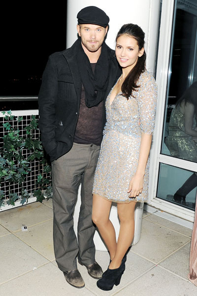 Kellan Lutz and Nina Dobrev