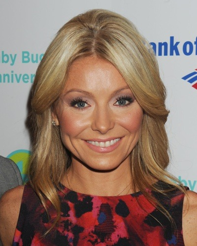 Kelly Ripa's natural beauty