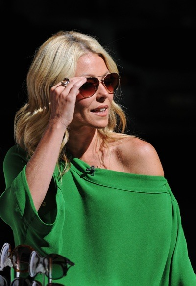 Kelly Ripa in kelly green