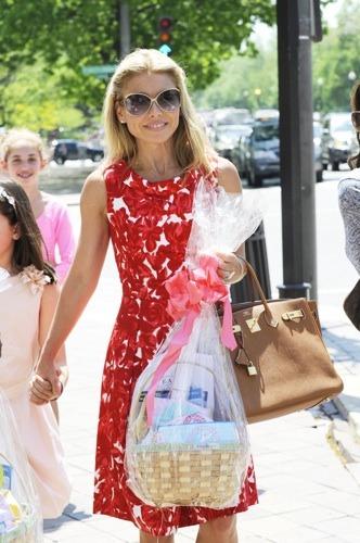 Kelly Ripa in summer dress