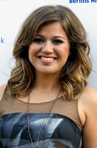 Kelly Clarkson's adorable curls