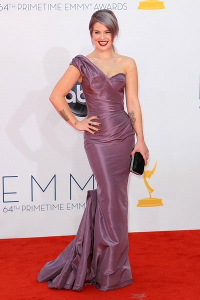 Kelly Osbourne matches it up at Emmys
