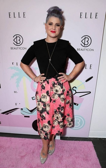 Kelly Osbourne at BeautyCon
