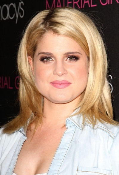 Kelly Osbourne's long layered hairstyle