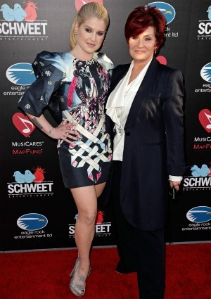Sharon and Kelly Osborne
