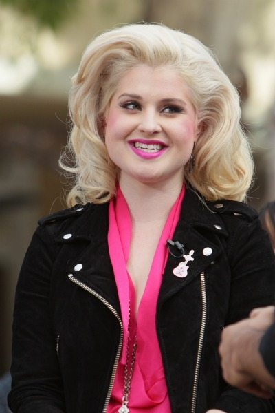 Kelly Osbourne's volumized curls
