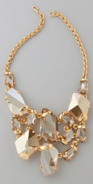 Kenneth Jay Lane bib necklace