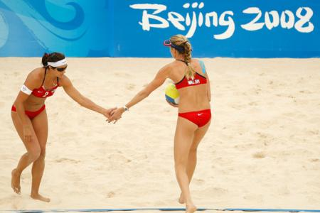 Kerri Walsh Against Brazil