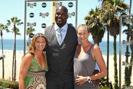 Kerri Walsh and Shaquille O'Neal