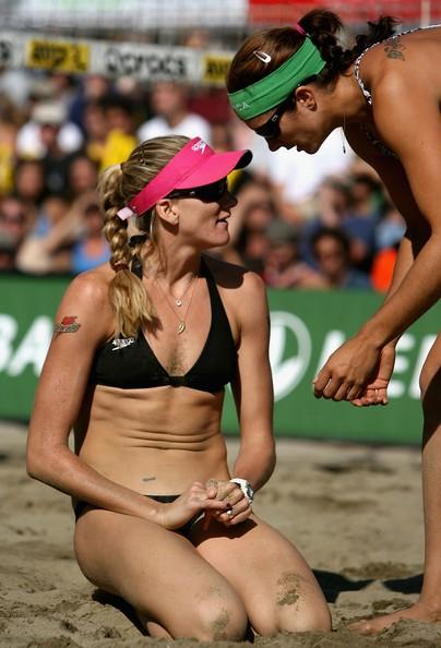 Kerri Walsh in San Francisco