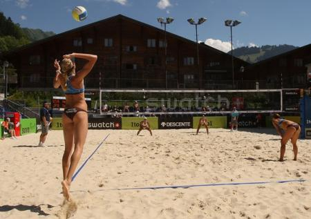 Kerri Walsh in Switzerland