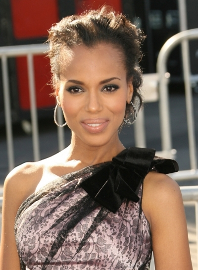 Kerry Washington's Updo
