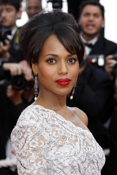 Kerry Washington's Perfect Updo
